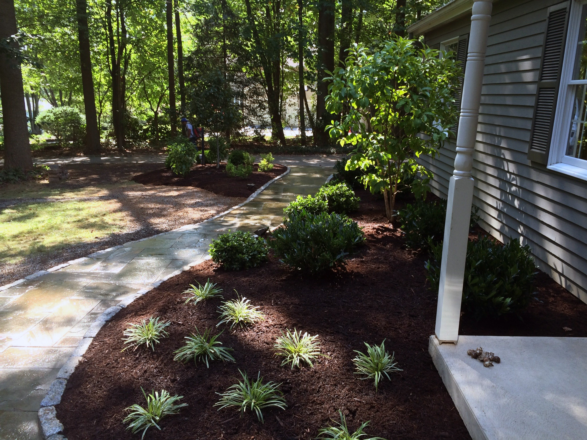 Walkway Design Chester County Pa