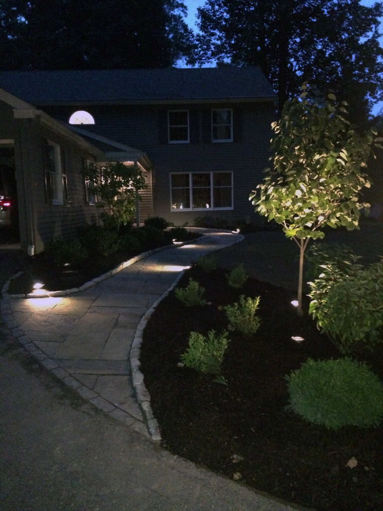 Walkway lighting Chester County PA